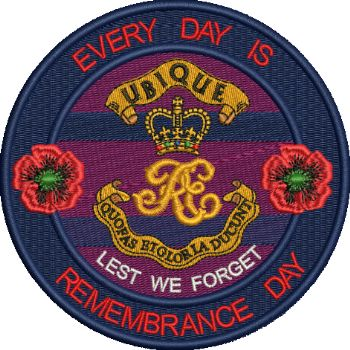 CYPHER Everyday is Remembrance Day Badge
